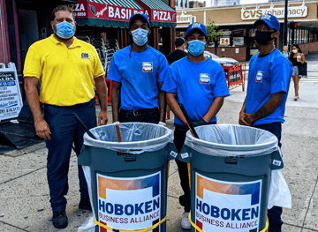 Hoboken clean team
