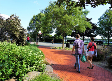 Nathanael Greene Park Walkway