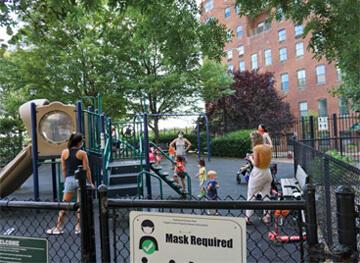Nathanael Greene Park Playground