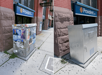 Hoboken Clean-Up Before & After
